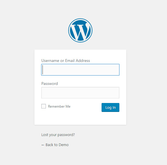 wordpress-login